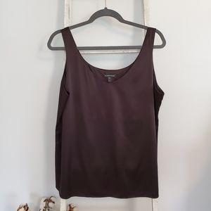 Eileen Fisher♡ Silk scoopneck top